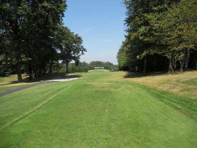 A view from tee #9 at Suffield Springs Golf Club