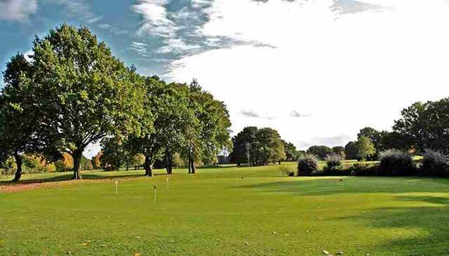 Green from David Lloyd Hampton Golf Course