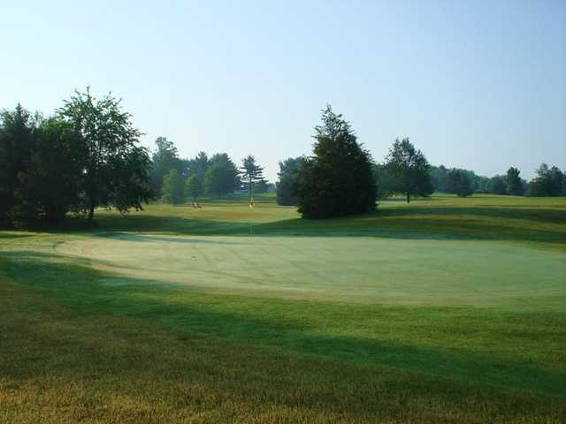 A view of a hole at Irish Hills Golf Course