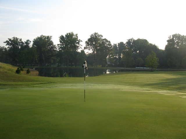 A view of the 8th hole at Birch Run Golf Club