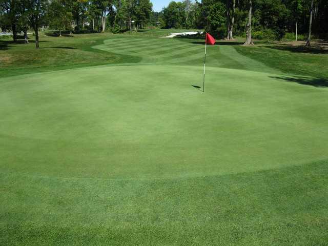 A view of green #7 at Birch Run Golf Club