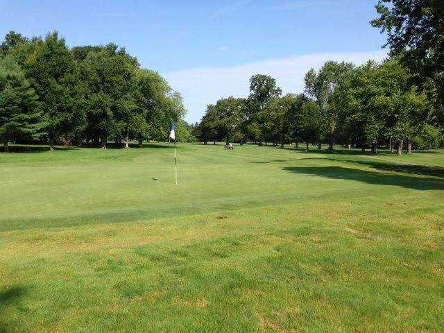 A view of a green at Madison Country Club