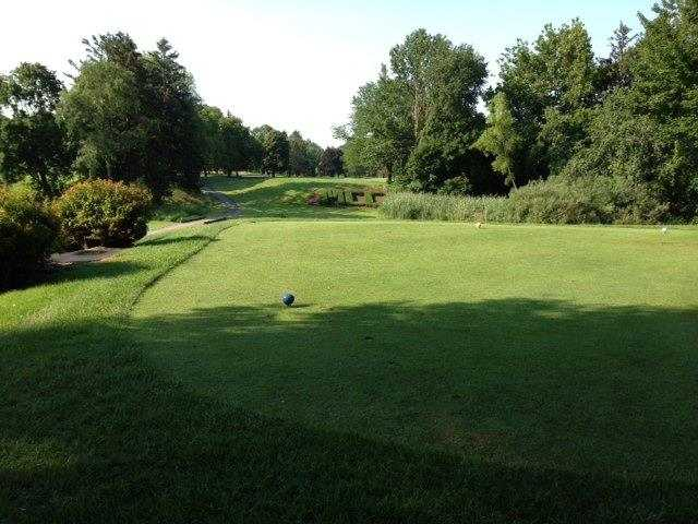 A view from a tee at Madison Country Club