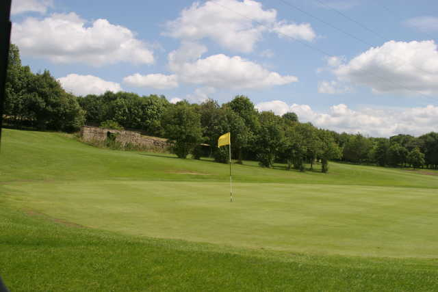 View of a green at East Morton Golf Club