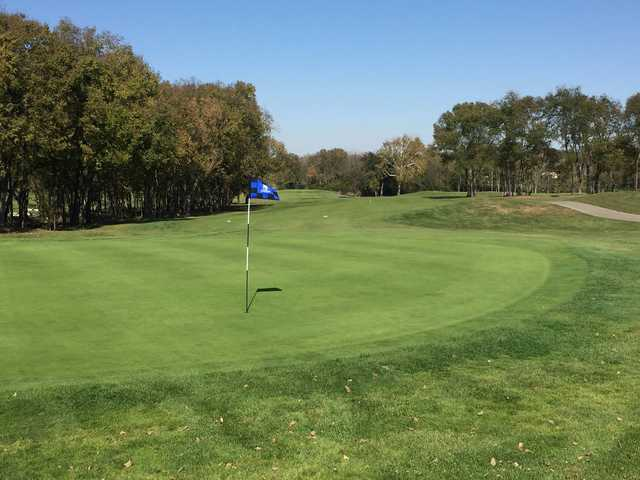 A view of a hole at Heatherwoode Golf Club
