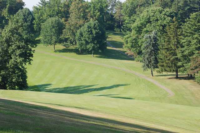 A sunny day view from Belmont Hills Country Club