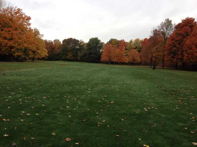 A view from a fairway at Riverside Greens