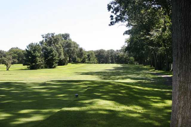 A view of a fairway at Sylvania Country Club