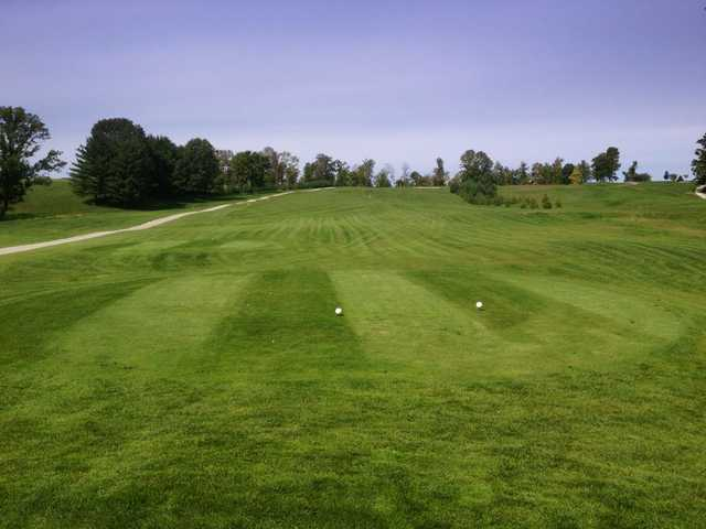 A view from tee #1 at Whitetail Ridge Golf Course
