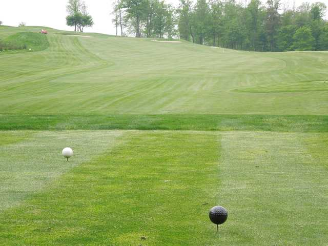 A view from the 8th tee at Whitetail Ridge Golf Course