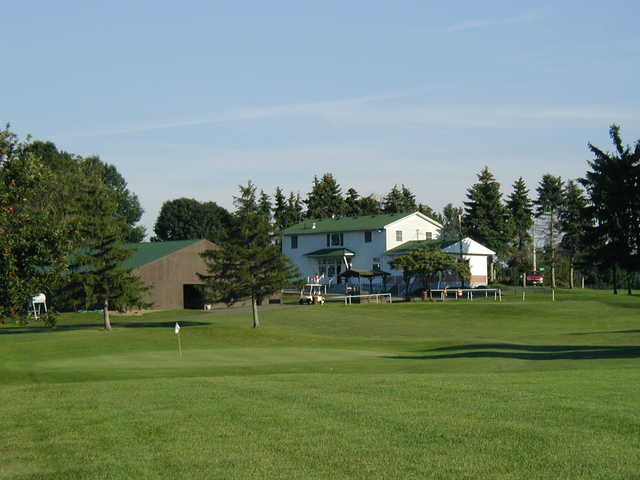 A view of a green at Pine Valley Golf Club
