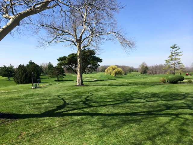 A sunny day view from Wapakoneta Country Club