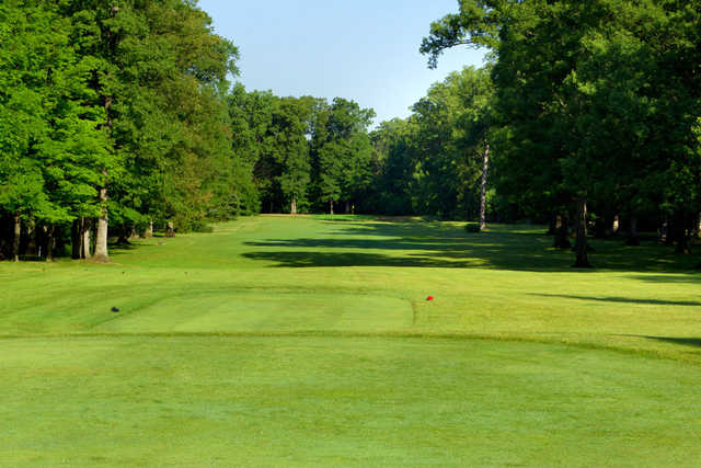 A view from a tee at Little Turtle Country Club
