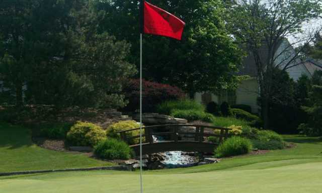 A view from a green at Westfield Group Country Club