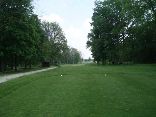 A view from tee #8 at Hidden Hills Golf Club