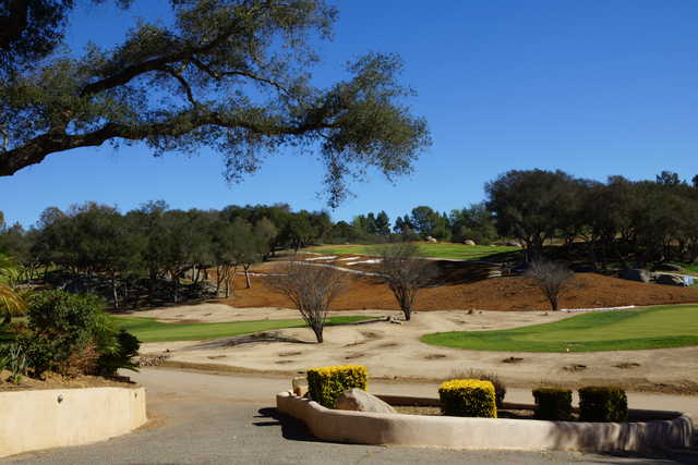 View from Boulder Oaks Golf Club