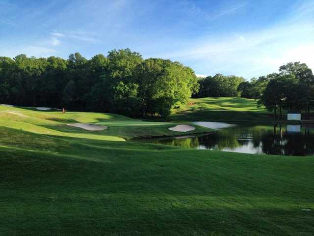 View from #5 on the Par-3 Course at Chateau Elan Golf Club