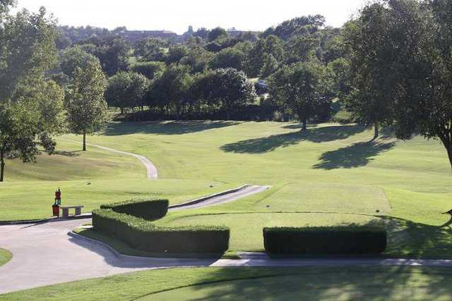 A view from a tee at Oak Hills Golf & Country Club