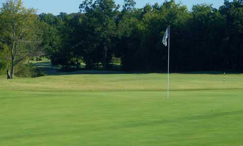 A view of hole #17 at White Hawk Golf Club