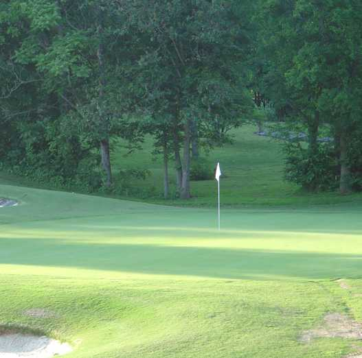 A green view from Dandridge Golf & Country Club.