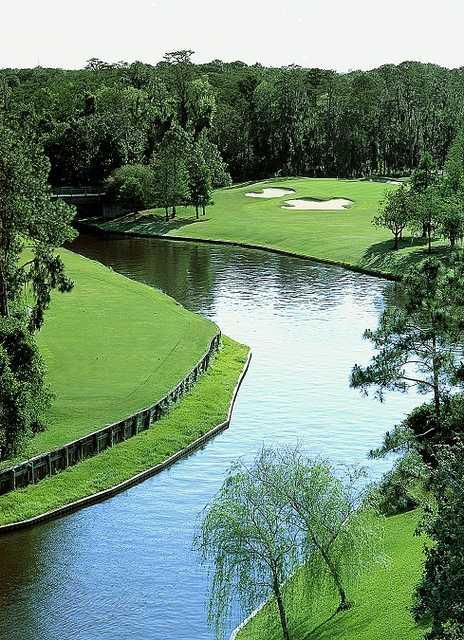 Aerial view from #16 at Disney's Lake Buen Vista
