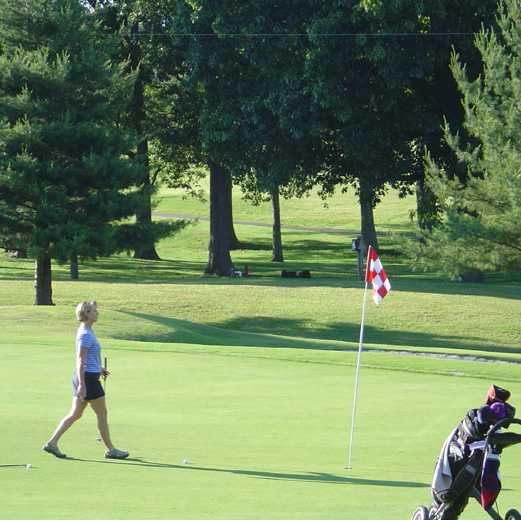 A view of green at Dandridge Golf & Country Club