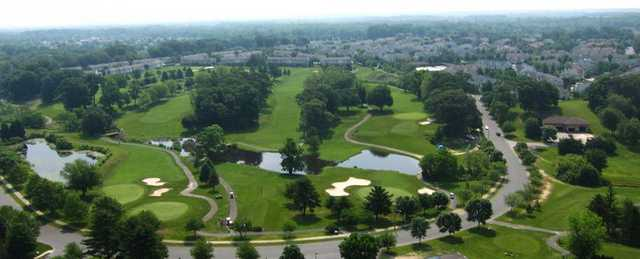 Aerial view from Ron Jaworski's Valleybrook Country Club