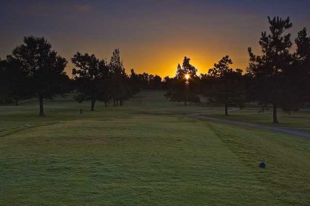 A view from a tee at Nowata Country Club