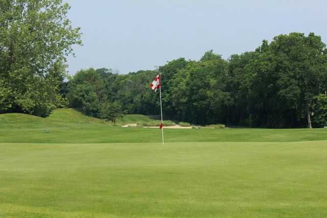 A view of a green at Ron Jaworski's Valleybrook Country Club