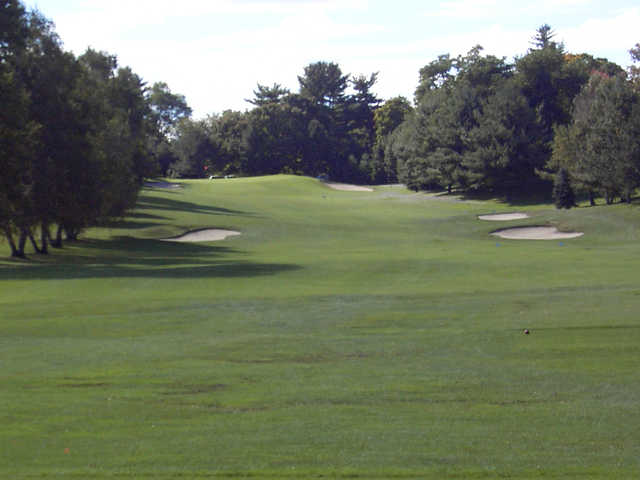 A view from fairway #18 at Maple Moor Golf Course.