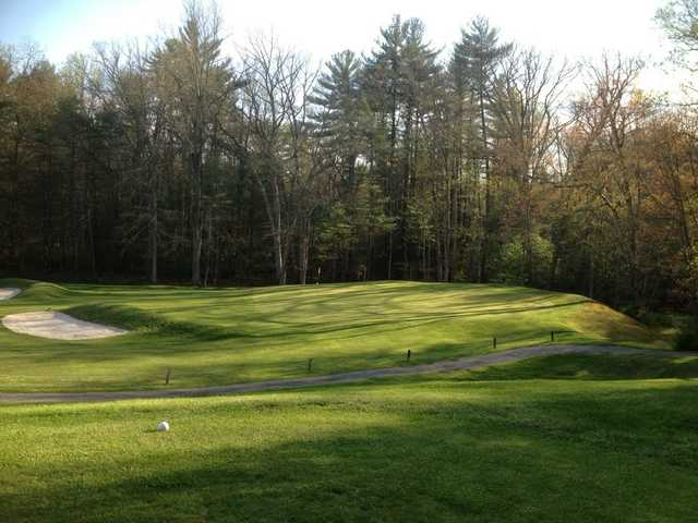 View from the 12th green at Caledonia Golf Club