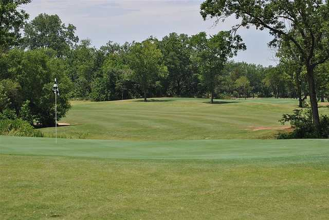 A view of a hole from The Links at Stillwater Golf & Country Club