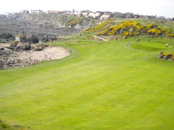 A view from Anstruther Golf Club.