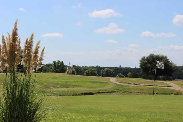 A view of a green at Tishomingo Golf Course (Chickasawcountry)