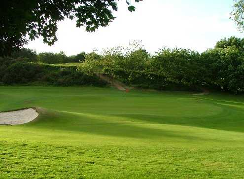 A view from Glenrothes Golf Club