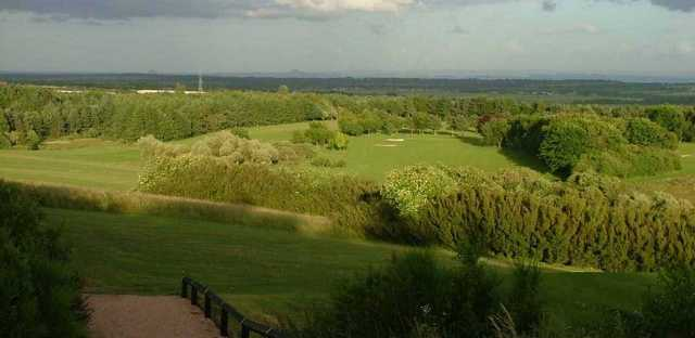 Aerial view of the Glenrothes Golf Club