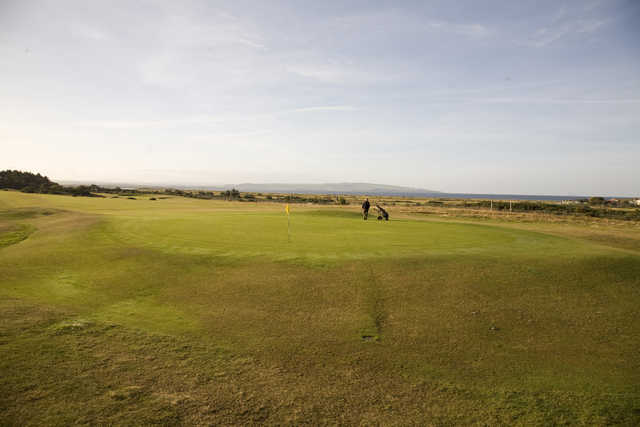 View from Troon Links - Lochgreen's 8th green
