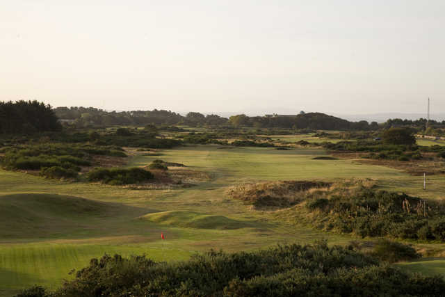 View from Troon Links - Darley's 7th green