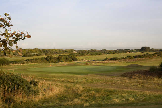 View from Troon Links - Darley's 10th green