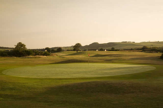View from Troon Links - Darley's 13th green