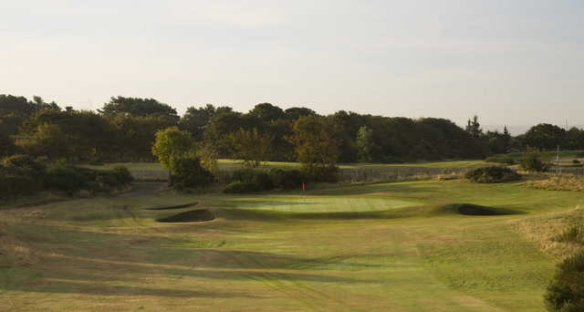 View from Troon Darley's 16th green