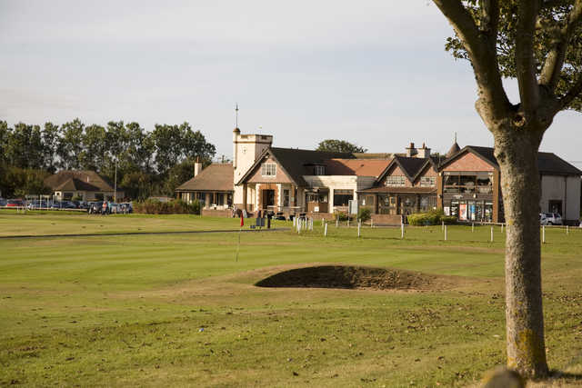 A view of the Troon Links - Darley's Clubhouse