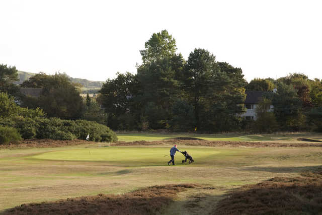 View from Troon Links - Fullarton's 3rd green
