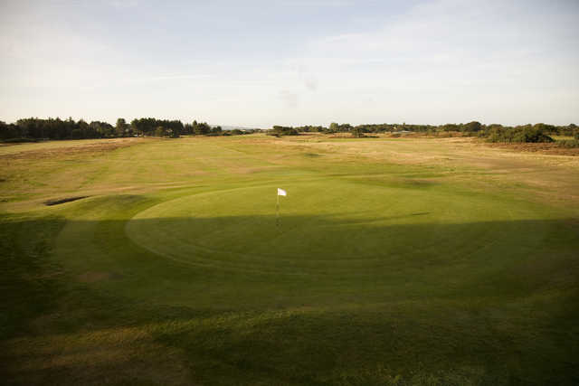 View from Troon Links - Fullarton's 4th green