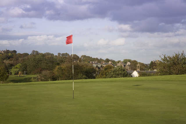 View from Maybole's 1st green