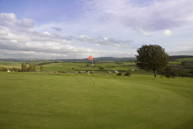 View from Maybole's 6th green