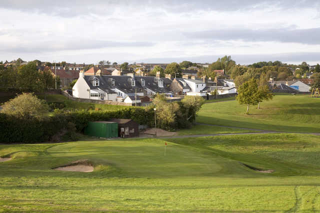 View from Maybole's 9th green