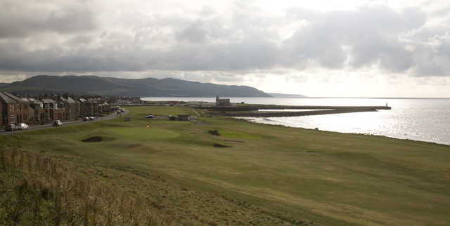 View from Girvan's 8th green