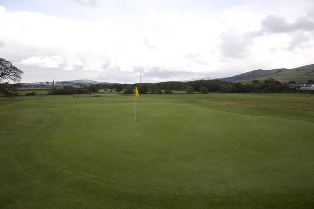 View from Girvan's 17th green