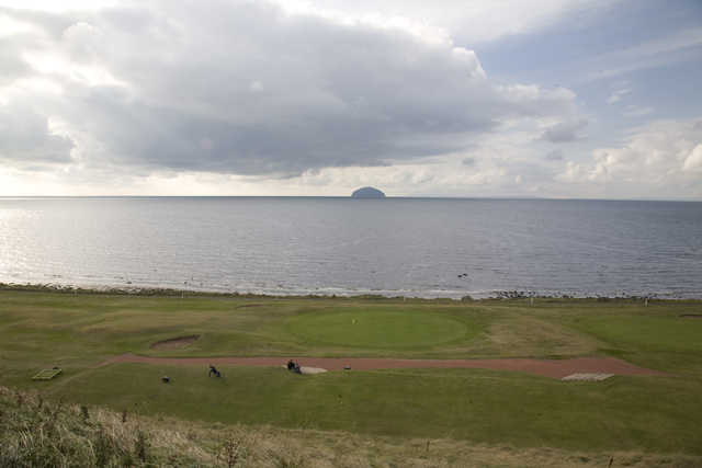 View from Girvan golf course
